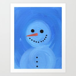 Snowman 2: Baby It's Cold Outside Art Print