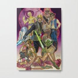 Jedi Mind Trickin' Metal Print
