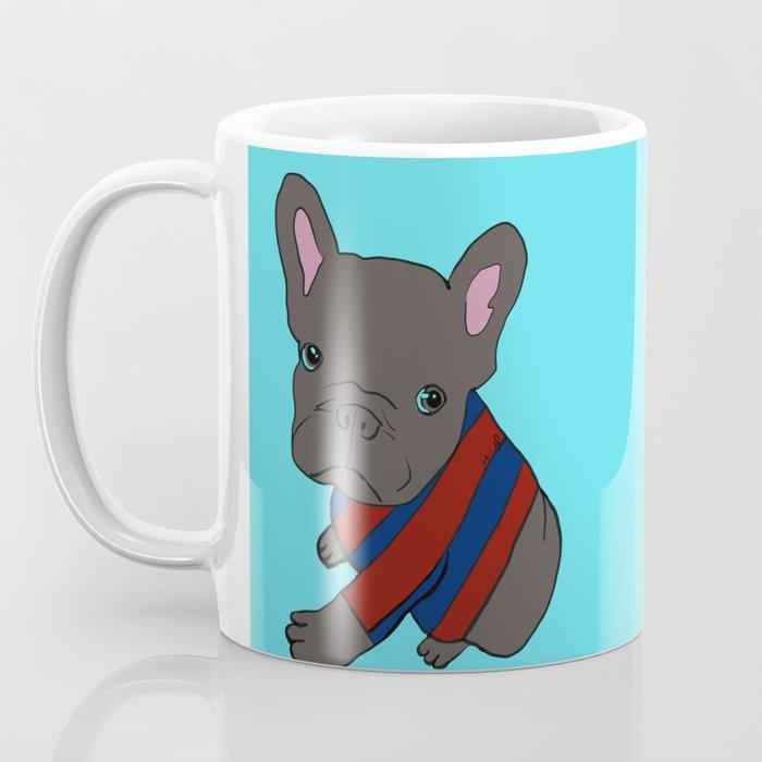 French Bull Dog Puppy in a Sweater Coffee Mug