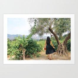 Napa Valley Fairytale Art Print