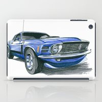 boss iPad Cases featuring 70 Boss by Anthony Billings