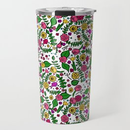 Cute Chintz Floral Pattern Travel Mug