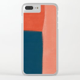Rustic 1 Clear iPhone Case