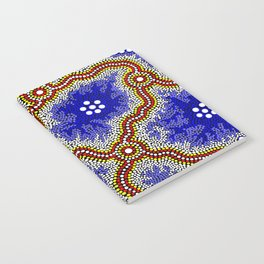 Aboriginal Art Authentic – Water Wetlands Notebook