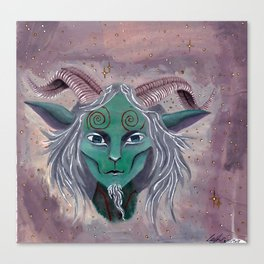 The Faun Canvas Print