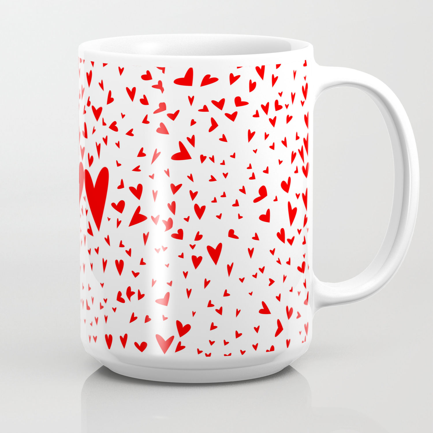 red tiny love hearts background coffee mug by homestead society6 red tiny love hearts background coffee mug by homestead