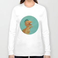 The Dino-zoo: Kangaroo-saurus Long Sleeve T-shirt