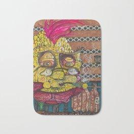 The Whimsical Pineapple Bath Mat