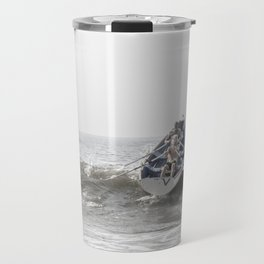 Over The Wave Travel Mug