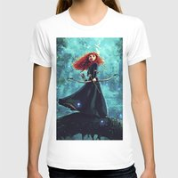 be brave T-shirts featuring Brave by Juniper Vinetree