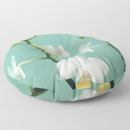 Small Orchids  Floor Pillow