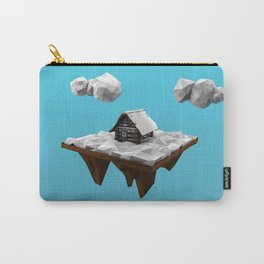 lowpoly winter Carry-All Pouch