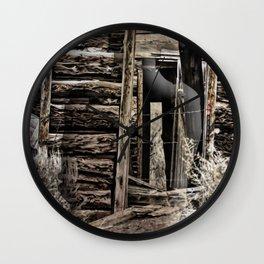Wild West Memories Wall Clock