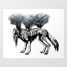 Smoke and Metal Disciple  Art Print