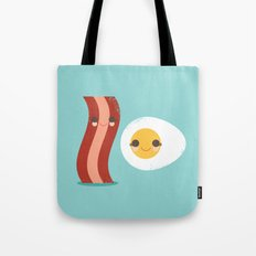 Bacon and Egg Buds Tote Bag