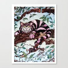The Grin Canvas Print