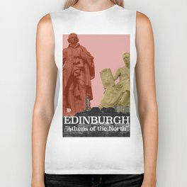 Edinburgh - Athens of the North Biker Tank