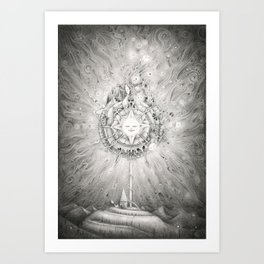 Moonlight Dream Caster Art Print