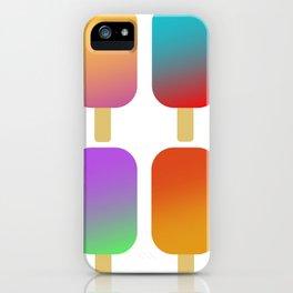 icecreams_white iPhone Case