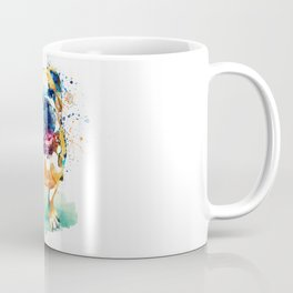 Watercolor Bulldog Coffee Mug