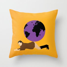 The great Dictator Throw Pillow