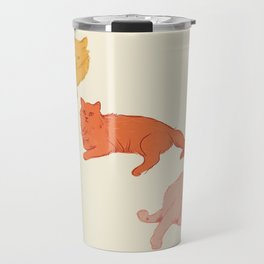 Cattitude - Cat illustration print Travel Mug