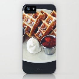 Liege Waffles iPhone Case