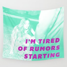 Rumors Wall Tapestry
