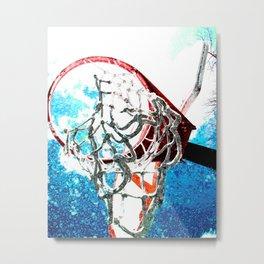 basketball art swoosh vs 7 Metal Print