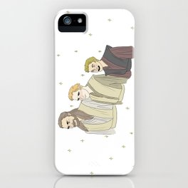 Space family iPhone Case