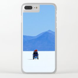 Salar de Uyuni 1 Clear iPhone Case