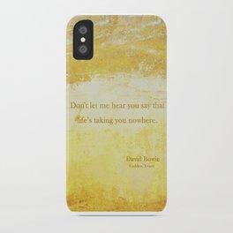 Golden Years iPhone Case