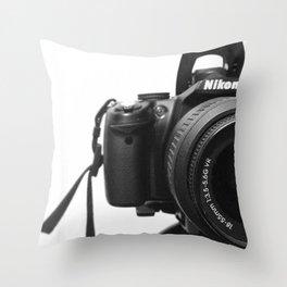 Nikon Throw Pillow