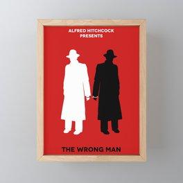 The Wrong Man Framed Mini Art Print