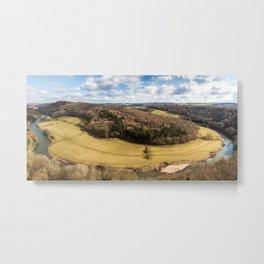 Symonds Yat Panorama Metal Print