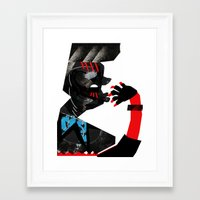 ethnic Framed Art Prints featuring Ethnic by longmuzzle