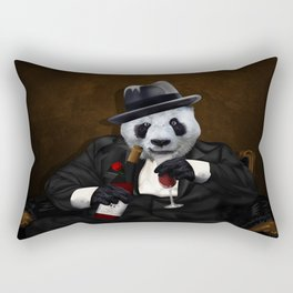 PANDA with Tuxedo iPhone 4 4s 5 5c 6 7, pillow case, mugs and tshirt Rectangular Pillow