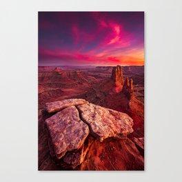 Desert Solitaire (Fine Art Landscape Photography) Canvas Print