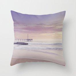 Summer Sunrise in Brazil Throw Pillow