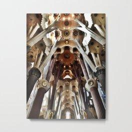 La Sagrada Familia Metal Print