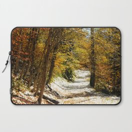 The First Snow Laptop Sleeve