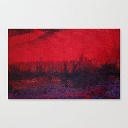 Evening in the Bushes Canvas Print