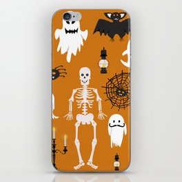 Spooky poster iPhone Skin