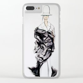 Look 24 Maison Margiela  'Replica' Collection Clear iPhone Case