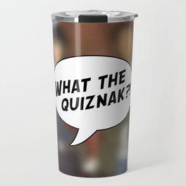 Voltron: What The Quiznak?! Travel Mug