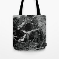 marble Tote Bags featuring Marble by Three of the Possessed