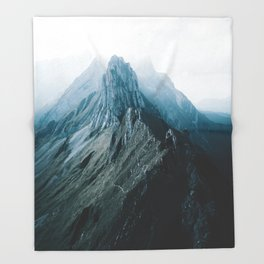 All of the Lights - Landscape Photography Throw Blanket