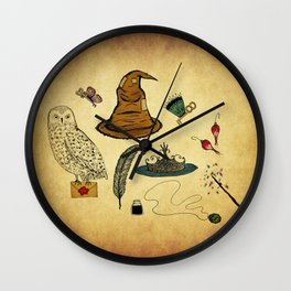 Magical Artifacts Wall Clock