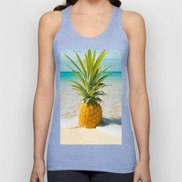 Pineapple Beach Unisex Tank Top