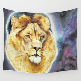 Cecil The Lion King Wall Tapestry